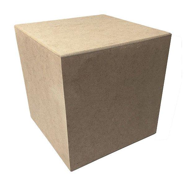 Cubo MDF 15x15x15 cm Decoração Festas Lembranças