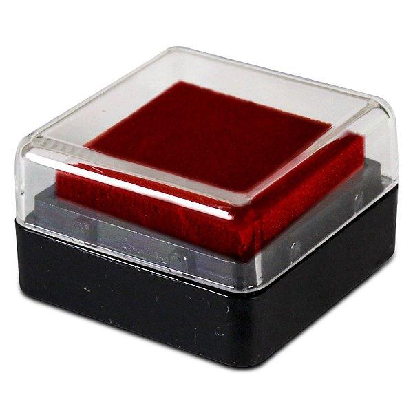 Almofada Para Carimbo Apex Vermelho Carmim 509