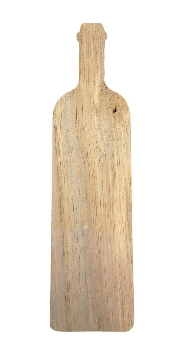 Tábua Pinus Formato Garrafa Para Mesa Posta 9x33 Decorativa