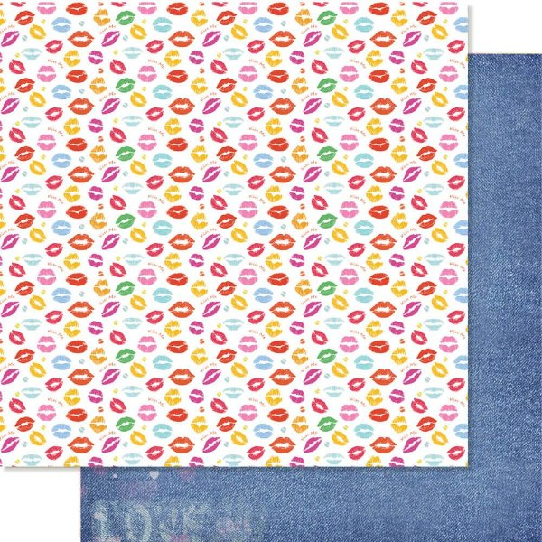 Papel Para Scrapbook 30,5 Cm X 30,5 Cm - SD -1199 - COLEÇÃO TODA FORMA DE AMAR