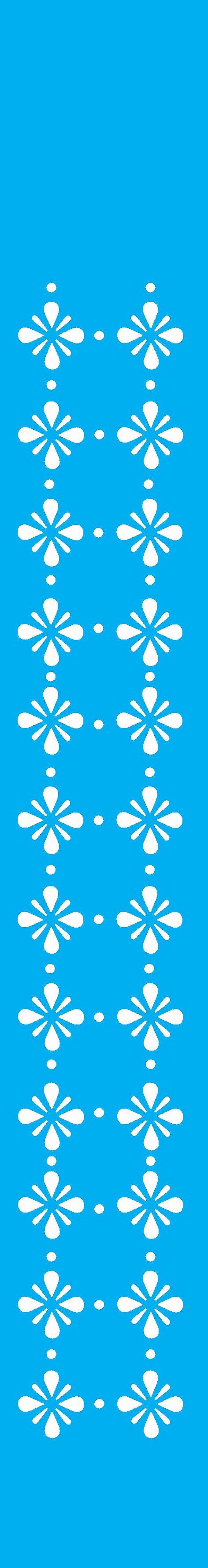 Stencil 4X30 Simples – Pontilhado Flor 2 OPA 1040
