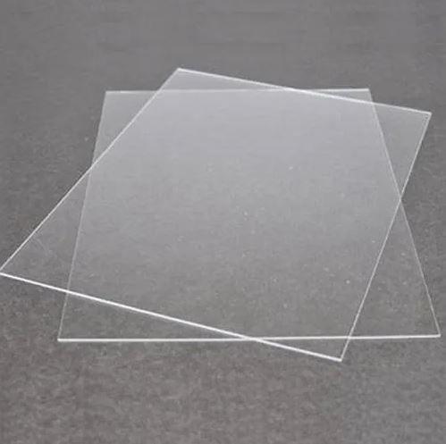Folha Transparência Acetato Crystal A4 18 Micras 2 Un