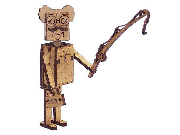 Miniatura Personagem Sr Goswal