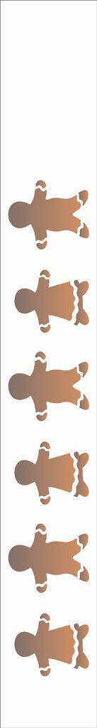 Stencil de Acetato para Pintura OPA 04×30 Simples – Barra Biscoito – OPA 1103