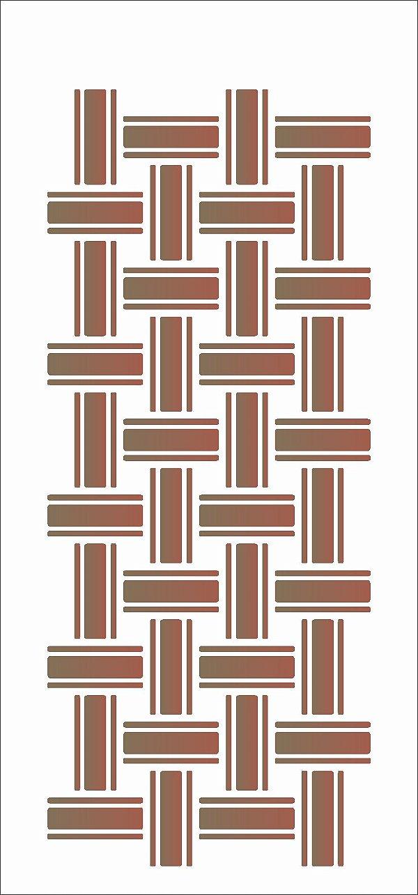 Stencil 7×15 Simples – Tramas – OPA 1974