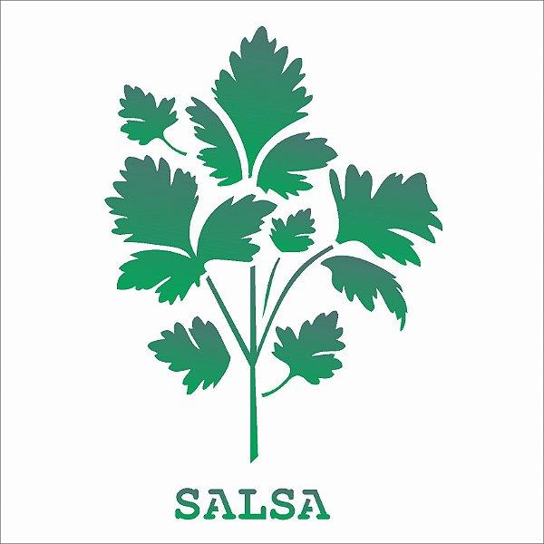 Stencil 14×14 Simples – Tempero Salsa – OPA 2021