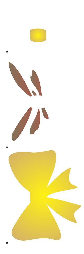 Stencil 10×30 Simples – Laço III – OPA 2232