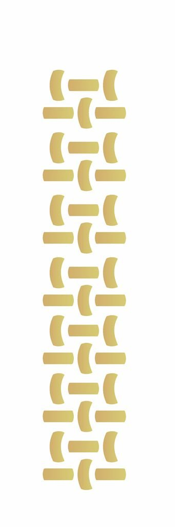 Stencil 10×30 Simples – Cesto Palha – OPA 009