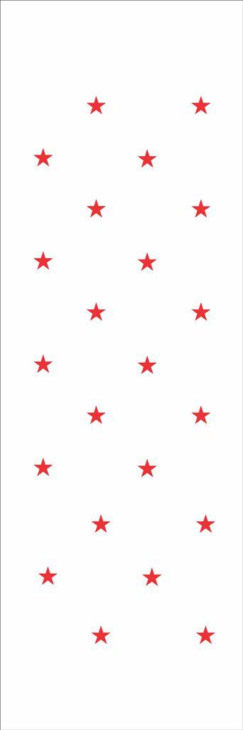 Stencil de Acetato para Pintura 10×30 – Estrelas Pq – OPA 021