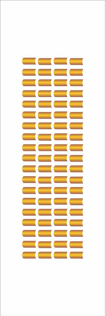 Stencil 10×30 Simples – Telhado – OPA 051