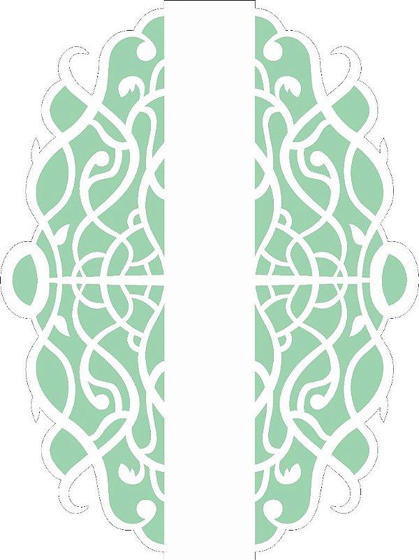 Stencil 15×20 Simples –Negativo Moldura Arabesco I – OPA 2518