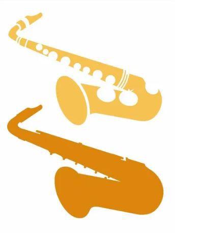 Stencil 15×20 Simples – Instrumentos – Saxofone – OPA 2572