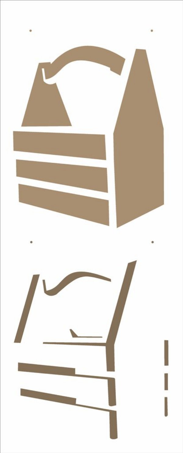 Stencil 17×42 Simples – Cesto – OPA 2506
