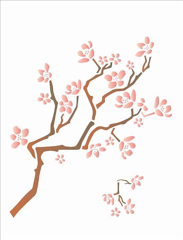 Stencil  32×42 Simples – Cerejeira – OPA 1418