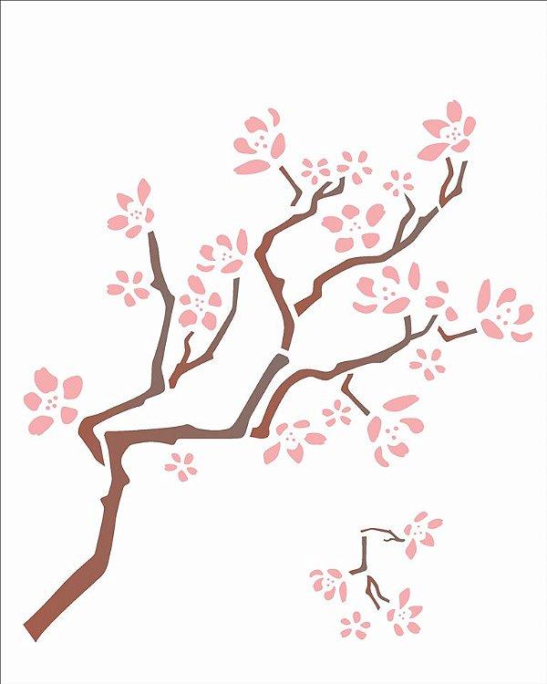 Stencil 20×25 Simples – Cerejeira – OPA 1403