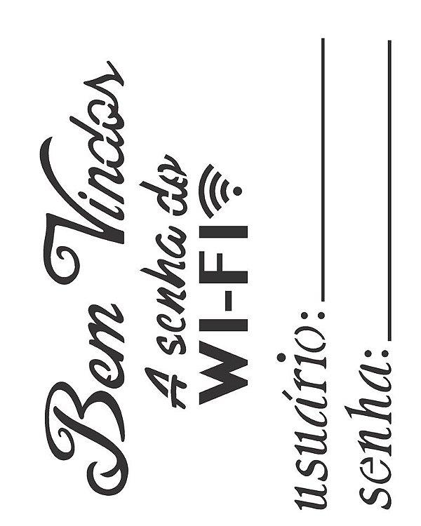 Stencil 20×25 Simples – Wi-fi – OPA 2290