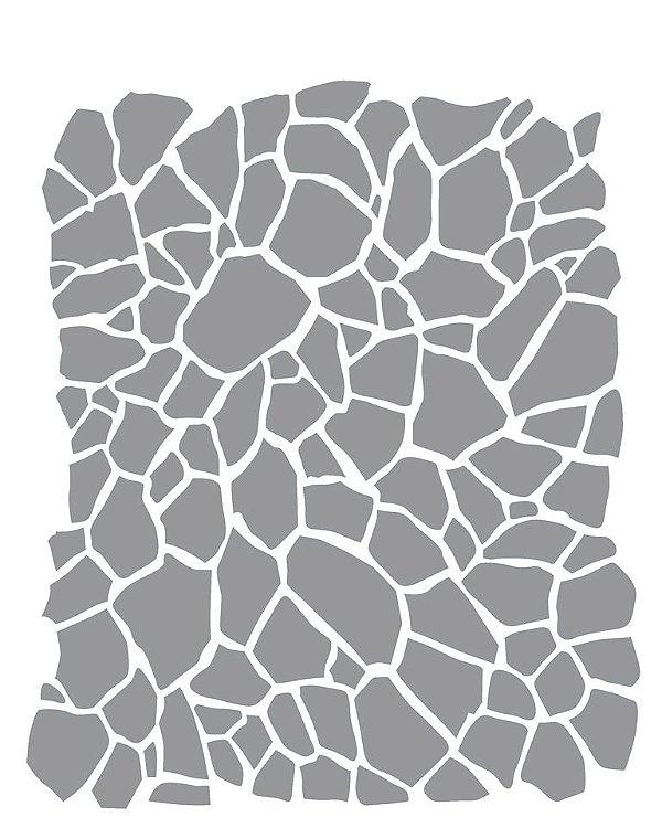 Stencil 20×25 Simples – Estamparia Craquelê I – OPA 2266