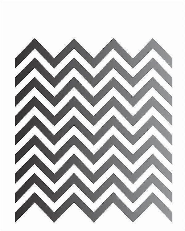 Stencil 20×25 Simples – Estamparia Chevron – OPA 1244