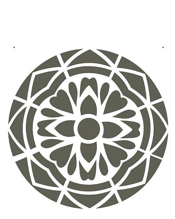 Stencil 20×25 Simples – Mandala I Camada I – OPA 2280