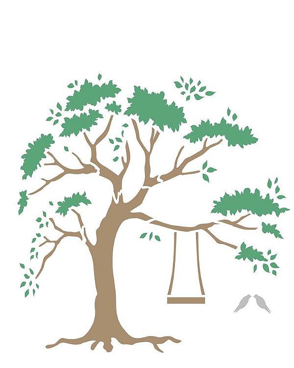 Stencil 20×25 Simples – Árvore – OPA 2260