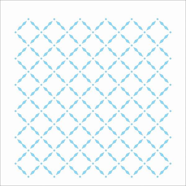 Stencil 14×14 Simples – Estamparia Grade – OPA 2333