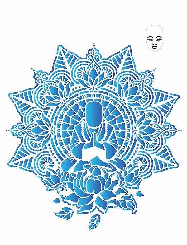Stencil 32×42 Simples – Manda Buda – OPA 2728