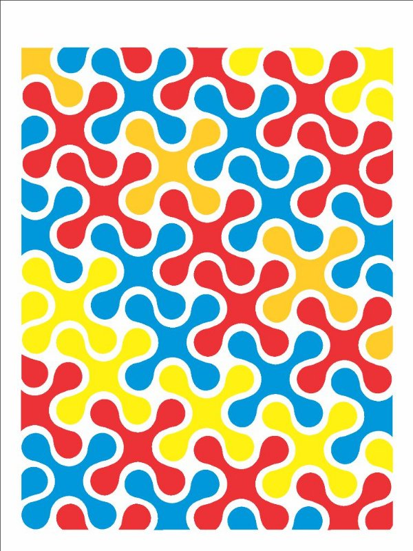 Stencil 15×20 Simples – Estamparia Quebra-Cabeça II OPA 2699