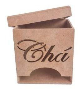Caixa De Chá Pequena - 8x8x8 - Kit com 100