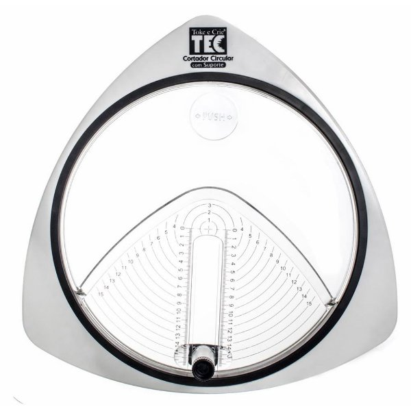 Cortador Circular c Suporte Toke e Crie + 3 Lâminas 16079