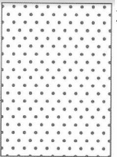 Placa De Emboss - Póa Grande - 13 cm x 18,4 cm - Sunlit