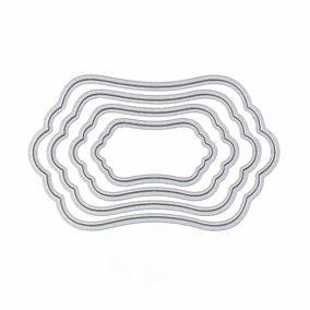 Facas de Corte - Tags - 4 Peças - Sunlit