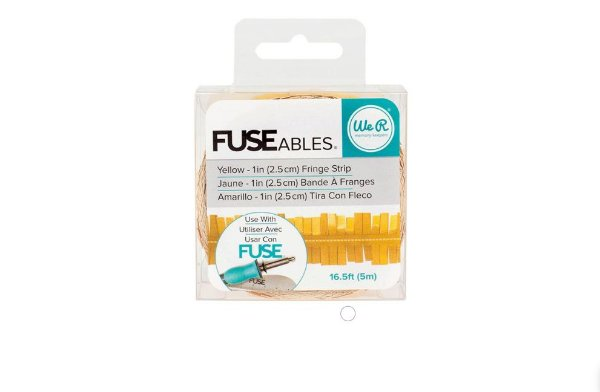 Yellow Fringe Tape - FUSEables - 660862 - We R