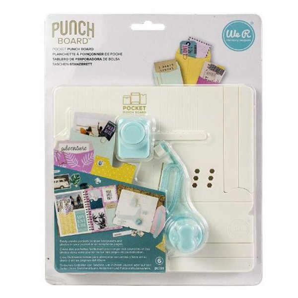 Mini Base Criativa Bolsinhos Pocket Maker Punch Board - 660484 - We R