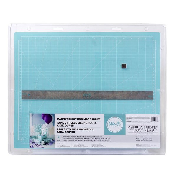 Base de Corte e Régua Magnética Cutting Mats - 709381 - We R