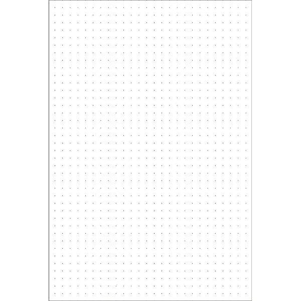 Refil De Página Para Planner/Agenda - Pontilhada - PG2-002