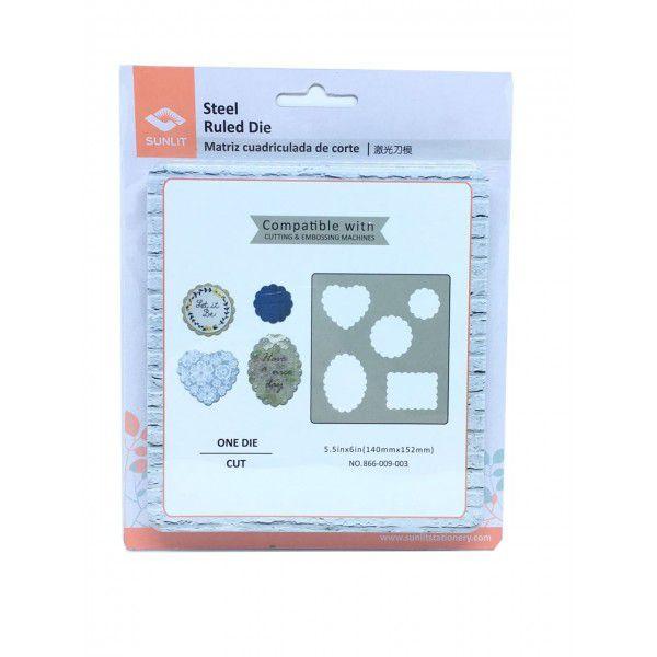 Facas de Corte - Escalopes 14 x 15 cm 4 Formatos - Sunlit