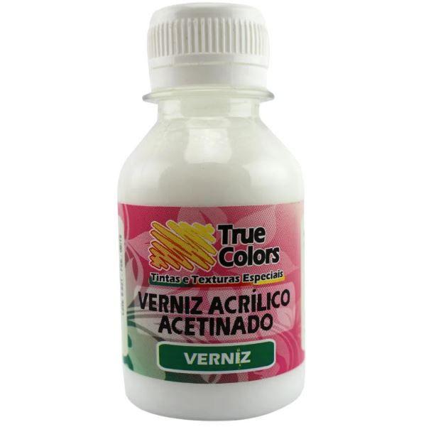 Verniz Acrílico Acetinado - 18119 - True Colors 100 ml