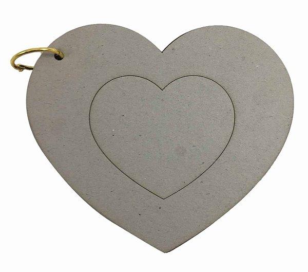 Álbum Holler Cartonagem Coração
