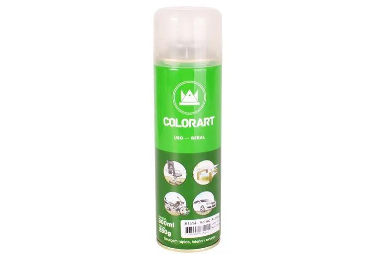 Spray Verniz Acrílico - 61514 - 300 ml - Colorart