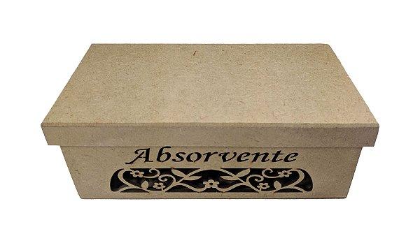 Porta Absorvente Arabesco A Laser Em Mdf
