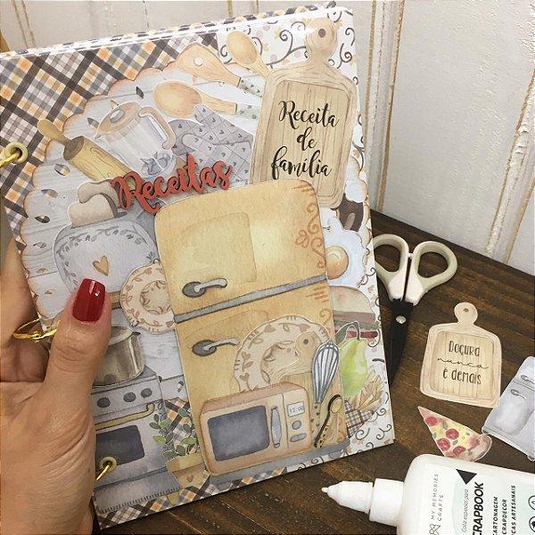 Caderno de Receitas My Kitchen - Live 46 - 03/09/2020 - 19 hrs