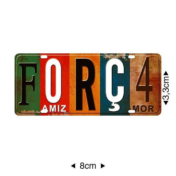 APM8-1170 - Aplique Em Papel E MDF - Força