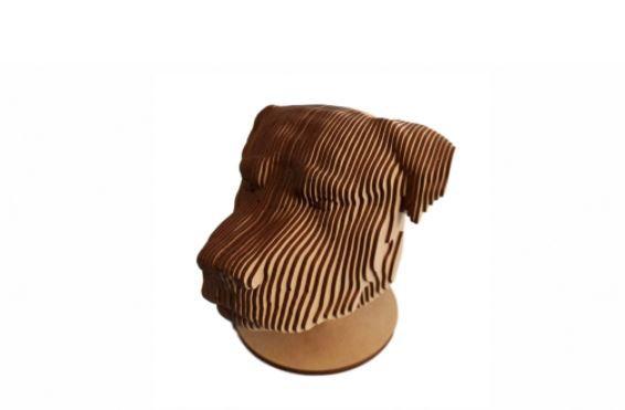 Dog Rottweiler 3D Laser Em MDF 100% Qualidade Decoração