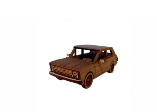Fiat 147 3D a Laser Em MDF 100% Qualidade Decoração