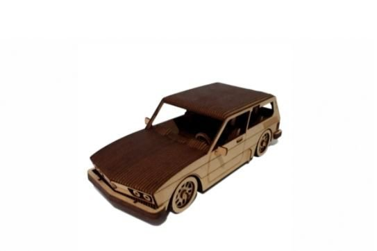 VW Brasília 3D a Laser Em MDF 100% Qualidade Decoração
