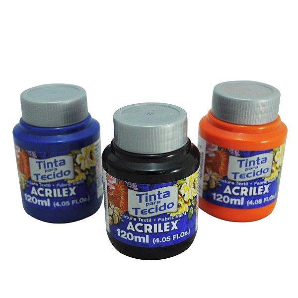 Tinta Para Tecido Fosca - 120 ml - Acrilex