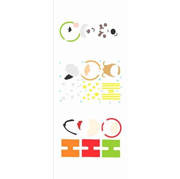 Stencil 17X42 Simples – Ho Ho Ho - OPA3002