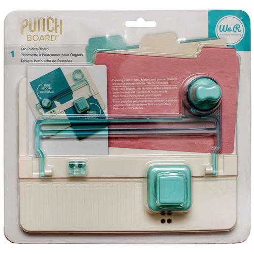 Mini Base Criativa Divisória Tab Punch Board 663105 We R