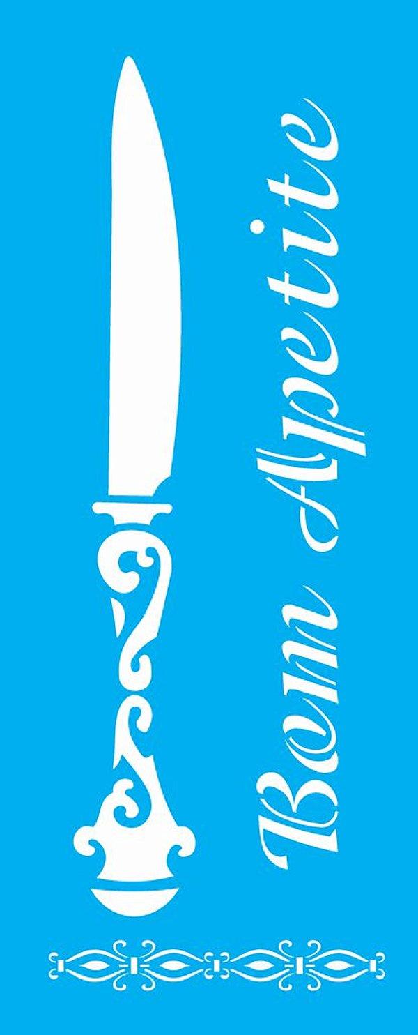 Stencil 17X42 Simples – Talher Faca - OPA1391