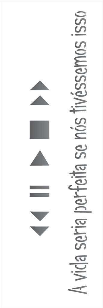 Stencil OPA Simples 10 x 30 cm 1728 Play